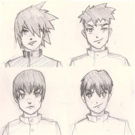 draw manga man hair   ways drawing  digital