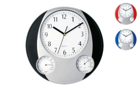 horloge murale pas chere horloge pendulette publicitaire personnalis 233 avec logo texte prix discount