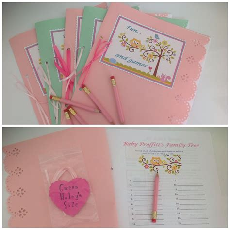 Baby Shower Booklet Template Baby Shower Booklet Template Pictures To Pin On