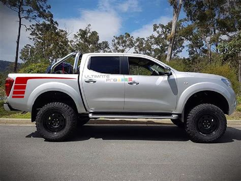 nissan frontier decal decal sticker vinyl hockey bed stripes compatible with