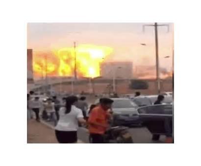 Chemical Plant Explosion Shangdong Explodes Scene China