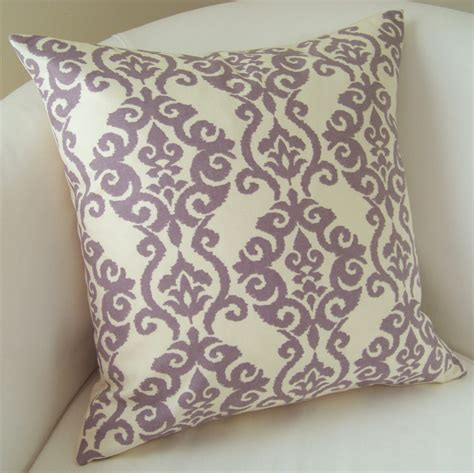 decorative purple pillows decorative throw pillow cover lilac purple pillow accent