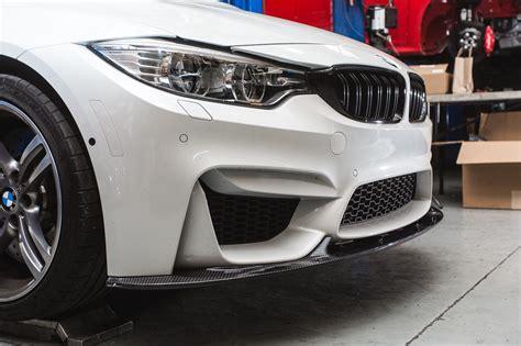 agency power carbon fiber front lip bmw