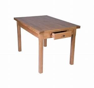 Table De Cuisine Avec Tiroir : table de cuisine en bois avec tiroir ~ Teatrodelosmanantiales.com Idées de Décoration