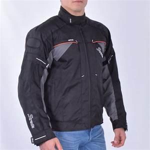 Blouson Moto Homme Textile : veste moto longue homme textile veste blouson homme jacket moto longue en cuir pu veste blouson homm ~ Melissatoandfro.com Idées de Décoration