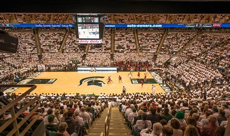 spartans  gather  breslin center  final  game