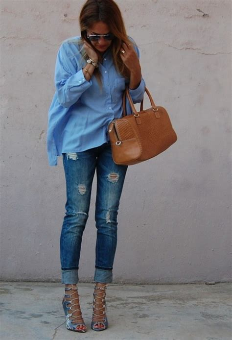 Perfect Fall Look 20 Outfit Ideas with Jeans - Style Motivation