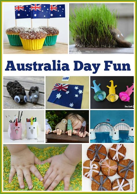 20 ideas for australia day crafty the empowered educator 396 | pin collage