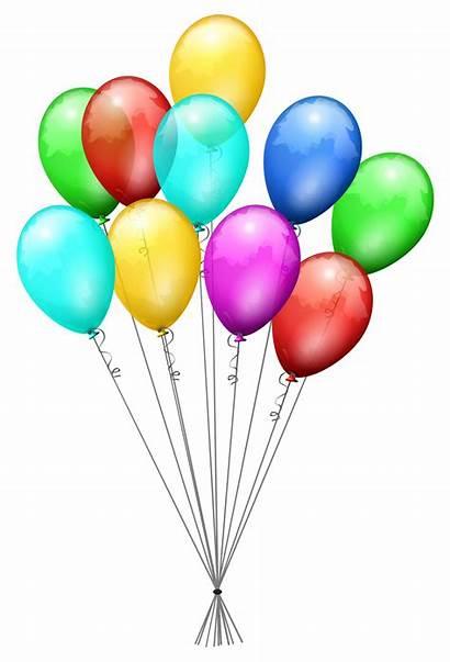 Balloons Svg Birthday Balloon Clipart Transparent Ballons