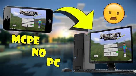 tutorial como jogar minecraft pe  pc sem windows