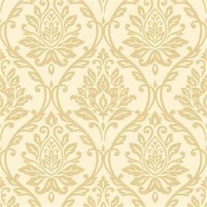 Fine Decor Athena Damask Beige Wallpaper at Homebase.co.uk