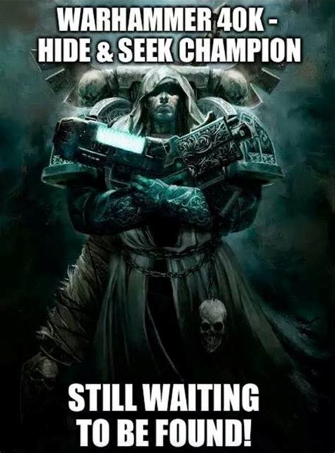 Warhammer 40k Memes Heresy - cypher s jedi mind tricks pic of the day spikey bits