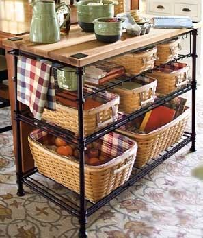 kitchen island with baskets 17 best ideas about bakers rack on farmhouse 5199