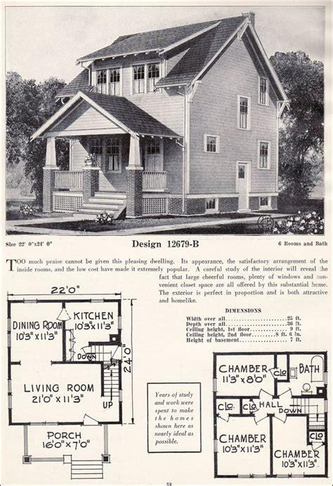 Adair Homes Floor Plans 1920 by 1920s Craftsman Bungalow Craftsman Plan Cottage C