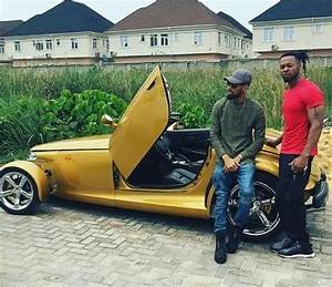 Flavour Rides With Phyno In His Chrysler Prowler Car