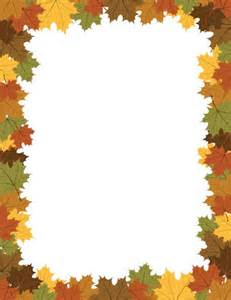 Maple Leaf Border Free