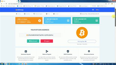"""Only 0.0001 btc minimum and no maximum investment limits. """"Bitpump.io"""" Bitcoin Doubler Site Double your Bitcoin in 24 hours join now. - YouTube"""