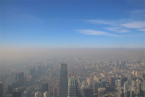 beijing issues red smog alert  toxic air pollution smothers northern china