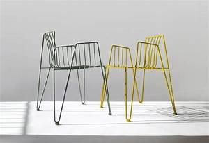 Chaise Moderne Design : chaises design pour salon de jardin haut de gamme ~ Teatrodelosmanantiales.com Idées de Décoration