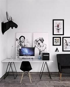 Bilder An Der Wand : 31 sehr kreative schreibtisch ideen ~ Lizthompson.info Haus und Dekorationen