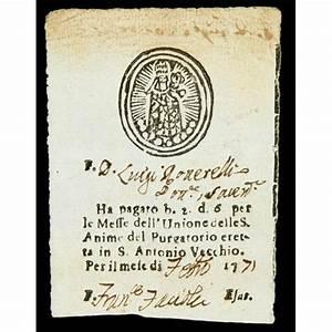 (Catholic Church) 18th Century Indulgence