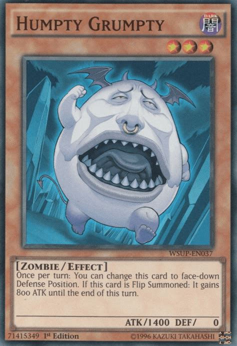 humpty yugioh cards card funniest yu gi monsters most oh named qtoptens superstars tcg leaks early amusingly ygo ohs