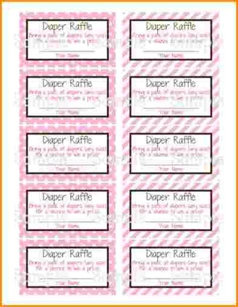 printable raffle tickets free