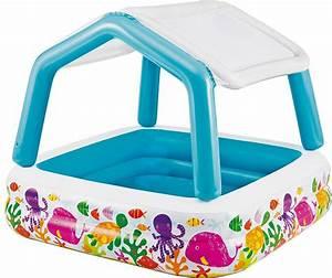 Baby Planschbecken Mit Dach : planschbecken kinder schwimmbecken pool mit dach aufblasbar intex 470 ebay ~ Watch28wear.com Haus und Dekorationen