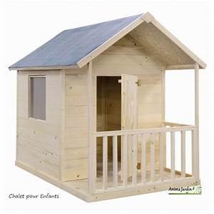 Aire De Jeux Extérieur Pas Cher : maisonnette en bois pour enfants kangourou chalet pas cher ~ Preciouscoupons.com Idées de Décoration