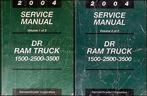 2004 Dodge Dr Ram Truck Wiring Diagram Manual Original