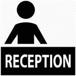Reception Desk Icon Icons Restaurant Resume Library