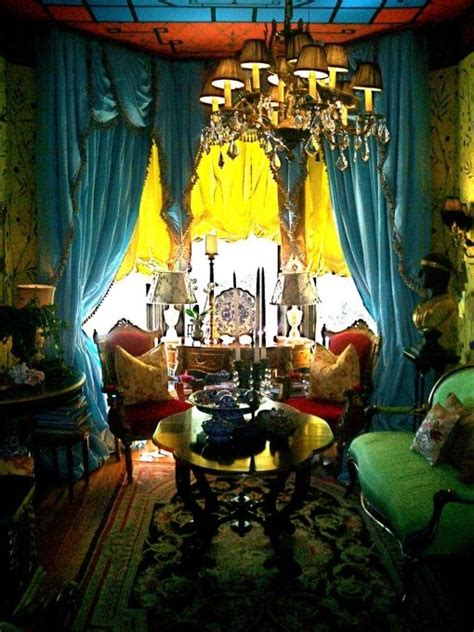 Lived  Chinoiserie Style Living Room  Living