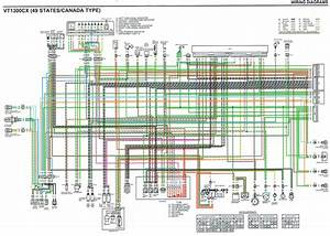 Electrical Diagram - Honda Interstate Forum Vt1300ct