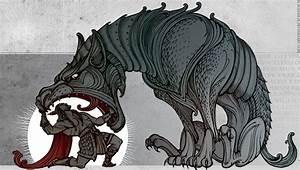 Dessin Symbole Viking : fenriswolf by on deviantart inspiration bd dessin mythologie ~ Nature-et-papiers.com Idées de Décoration