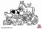 Farm Pages Colouring Coloring Animal Print Farming Animals Colour Template Hardys Printable Tractor Adult Visit Simulator Templates Admission Prices Plan sketch template