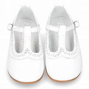 Patent Date Chart White Nappa Leather T Little Mary Shoes With