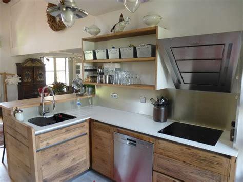 oxybul cuisine en bois cuisiniste avignon 84 cuisine en chêne plan travail dekton cuisine contemporaine sur mesure