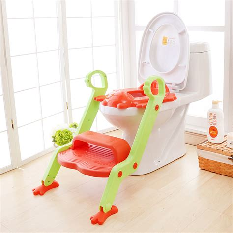baby potty seat with ladder children toilet cover