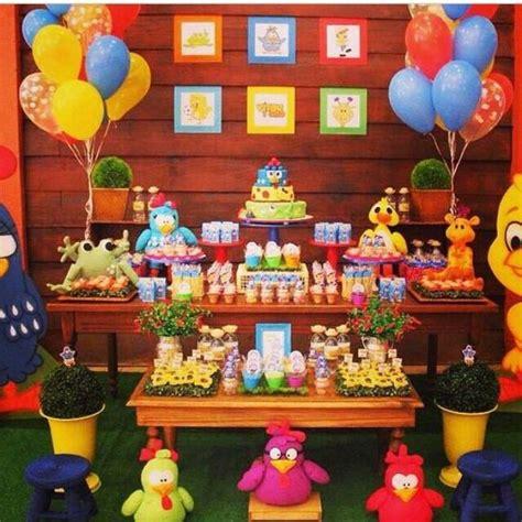Decoração de aniversário da Galinha Pintadinha: confira