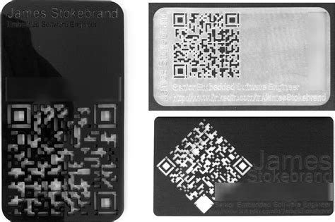 Scan This, Diy Lasercut Business Cards With Qr Codes Business Card Illustrator Simple Create A In Word 2010 Indesign Script How Do You Say Japanese Making Cards Using Size Of Pixels Information About Best Template