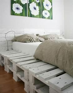 Bett Aus Holzpaletten : 40 diy m bel aus alten paletten f rs zuhause und den garten ~ Michelbontemps.com Haus und Dekorationen
