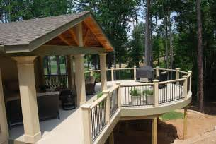 Covered Deck Plans Ideas by Covered Deck Designs Homesfeed