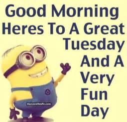 Cartoon Morning Happy Tuesday Funny Quotes