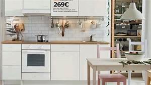 Cuisine Blanche Ikea : modele cuisine ikea blanche cuisine en image ~ Preciouscoupons.com Idées de Décoration