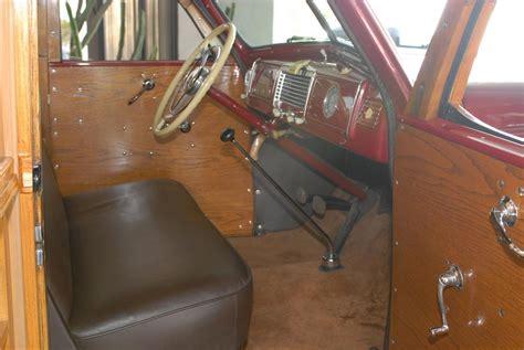 1938 buick century woody wagon 48984