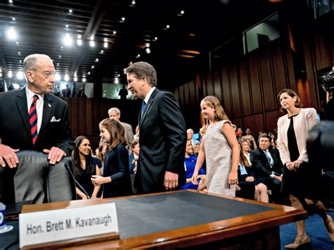 Kavanaugh Daughters Rushed Out of Heated Supreme Court Hearing