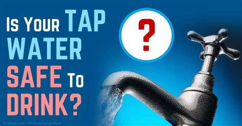 is sink water safe to drink drinking water is becoming toxic and scarce