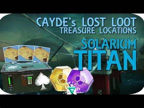 destiny 2 treasure map caydes chest location solarium