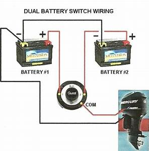 Dual Battery Isolator Switch Wiring Diagram  U2013 Car Wiring