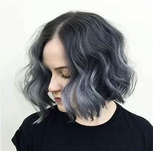 Beautiful Silver Ombre Hairstyles For Short Hair